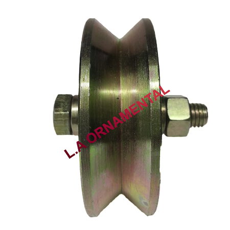 "4"" Temper Steel Double Ball Bearing Axle"
