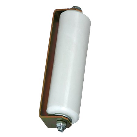 "12"" Plastic Guide Rollers  White (Single)"