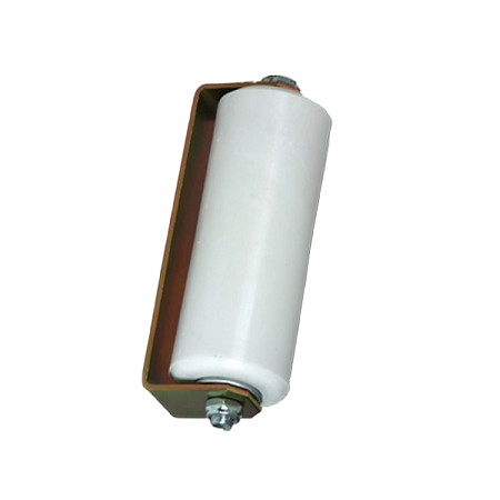 "6"" Plastic Guide Rollers White (Single)"