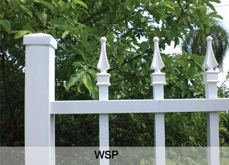 Standard picket fence