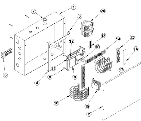 wire harness drawing swg three phase output wire harness assembly  swg three phase output wire harness